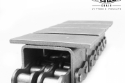 ASA60/2 chain with top plates